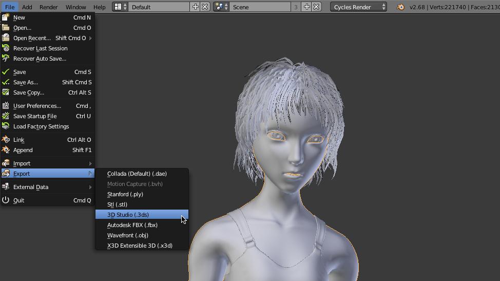Blender 3D Animation Character Cartoon Design Modeling Software CD