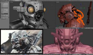 Scifi Bot Screenshot by Andy Goralczyk