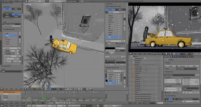 Blender 3d скачать программу бесплатно на русском языке