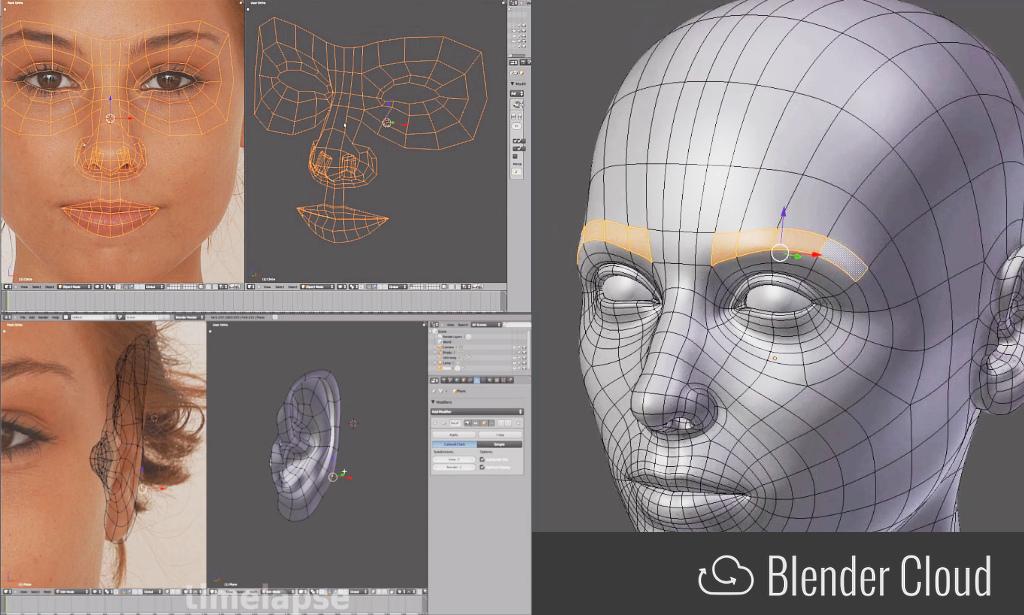 Introduction To Character Modeling In Blender : Tutorials — blender