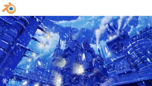 Blender 2.73 Splash Screen