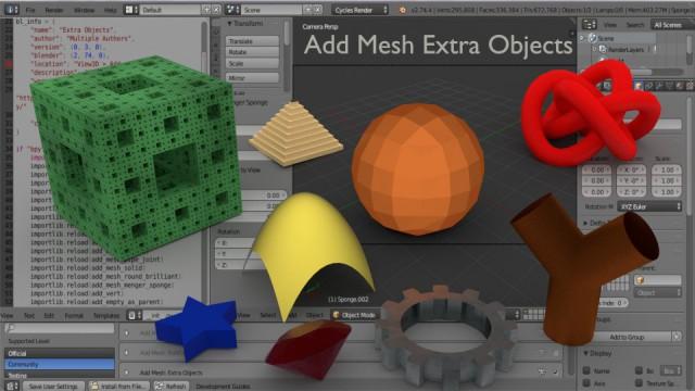 Новая версия свободной системы 3D-моделирования Blender 2.75