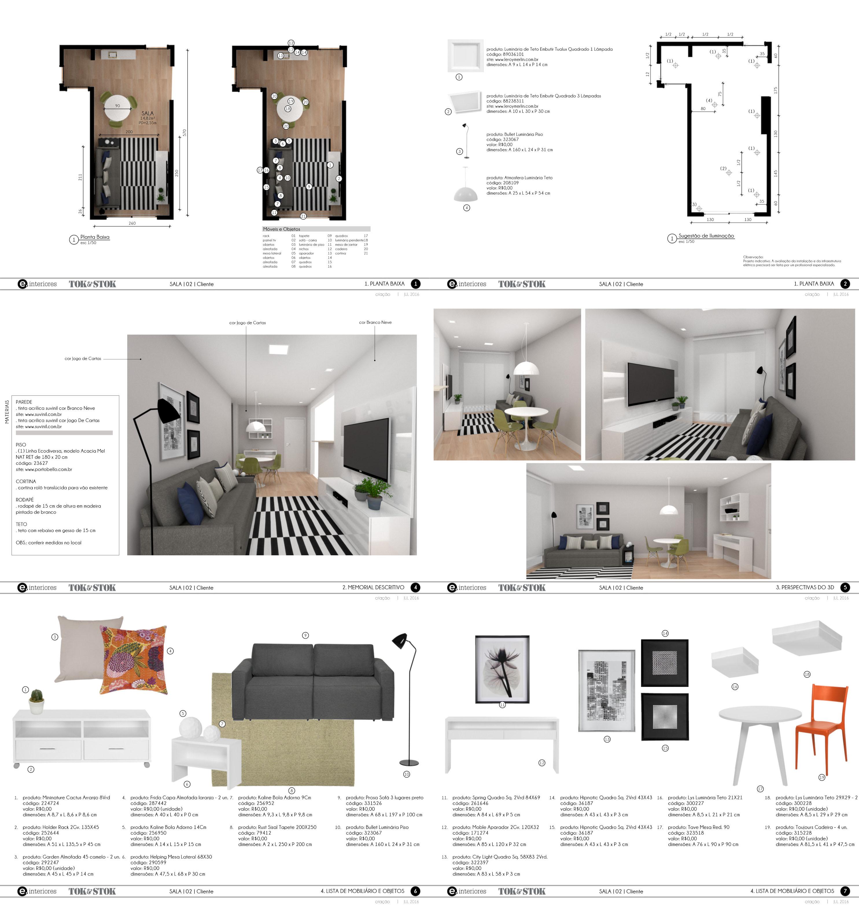 interior design sample board template layout