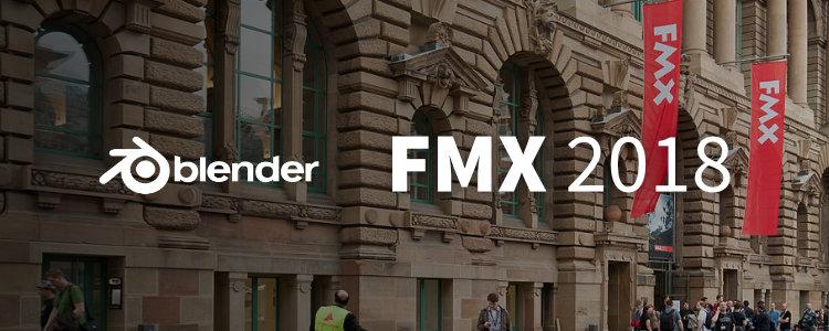 Blender at FMX 2018