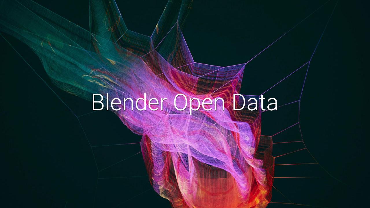 Blender Open Data
