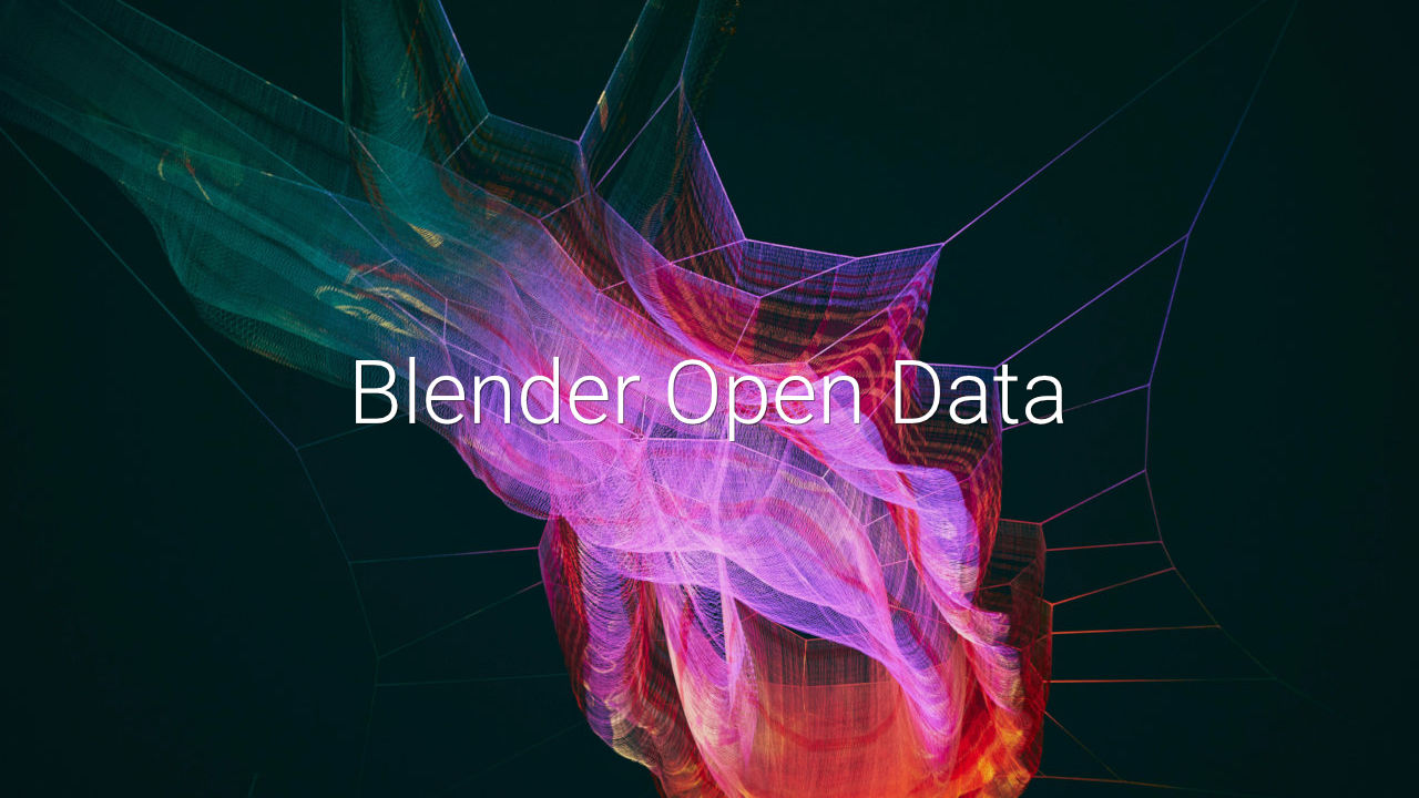 Blender Open Data