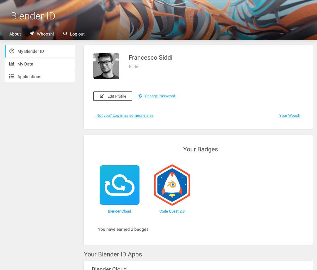 Blender Community Badges Overview
