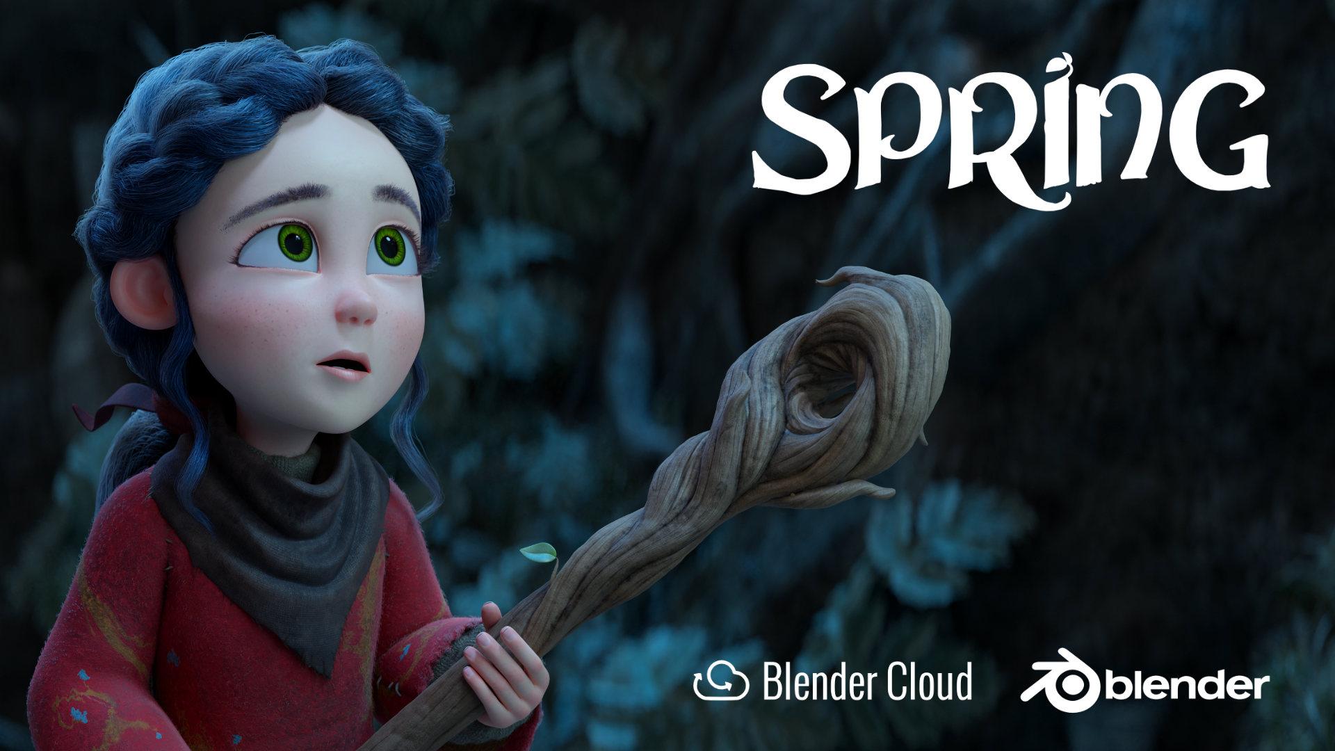 Spring Open Movie — blender org