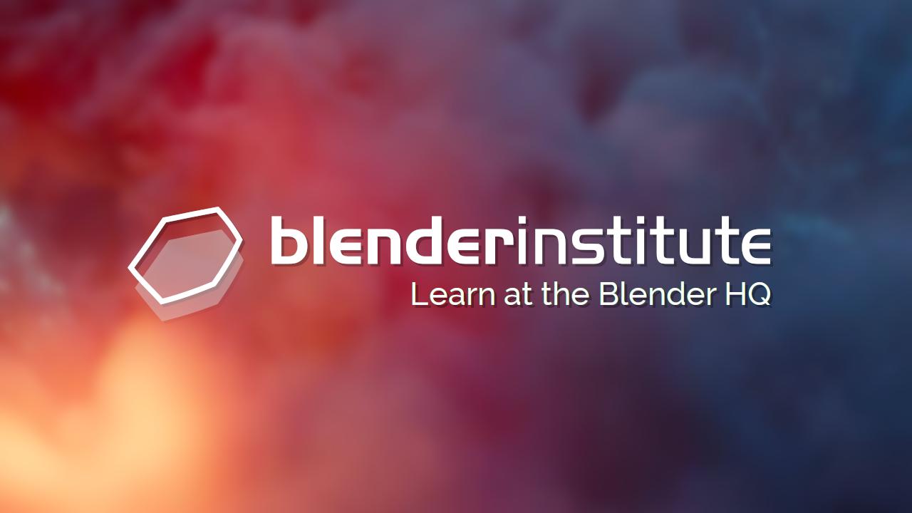 Blender Institute Training