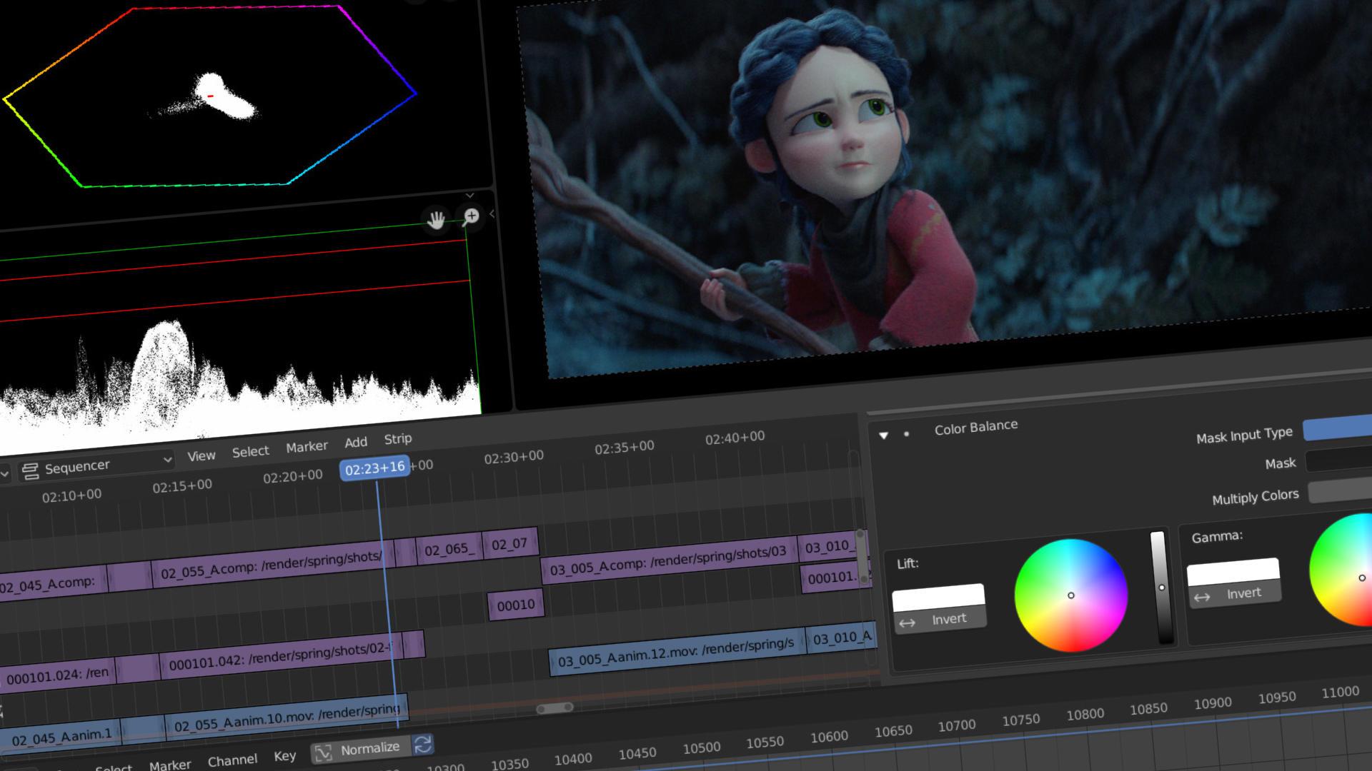 Video Editing — blender org