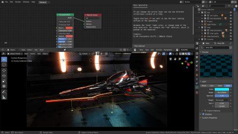 Demo Files — blender org