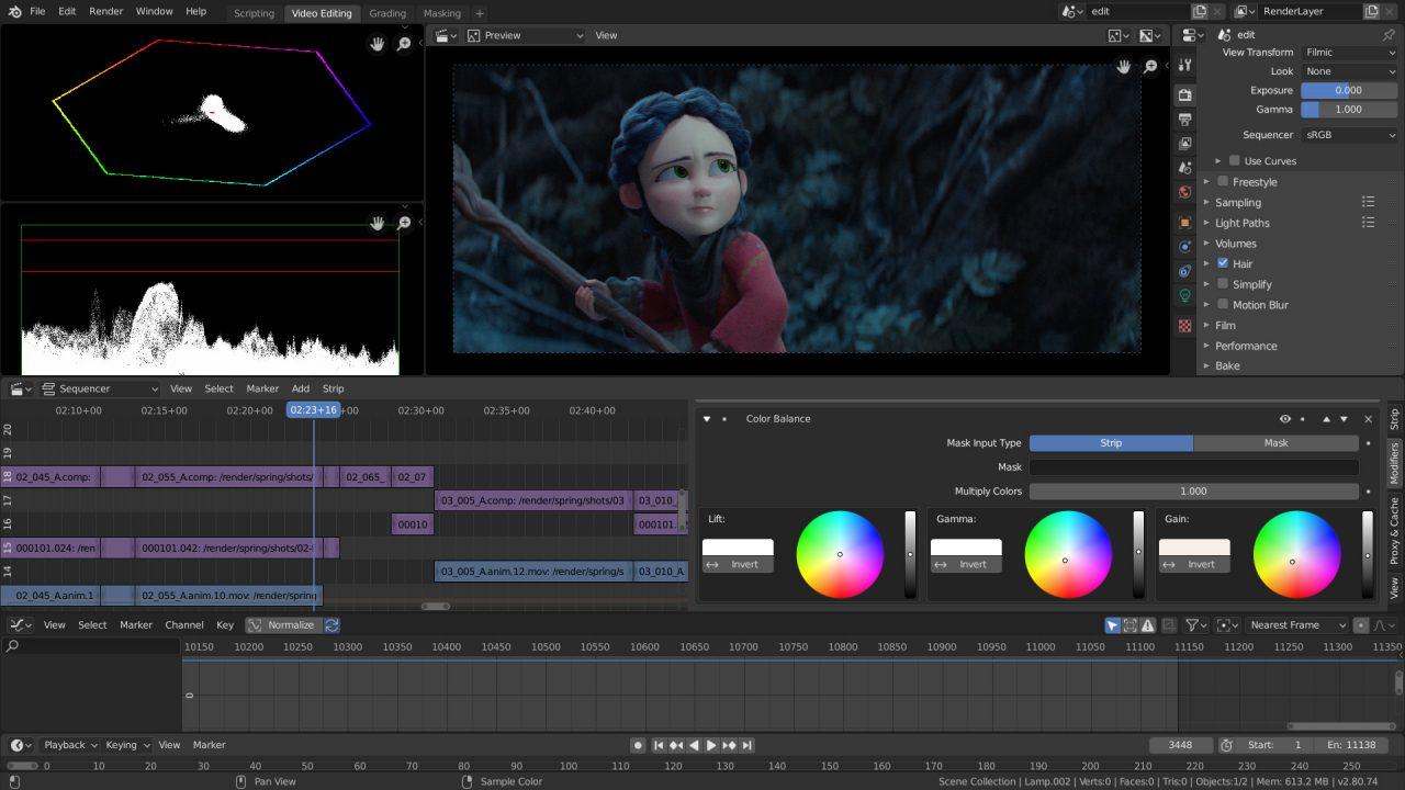 三维动画制作软件Blender 2.90 Alpha Win/Mac/Linux 免费下载插图(6)