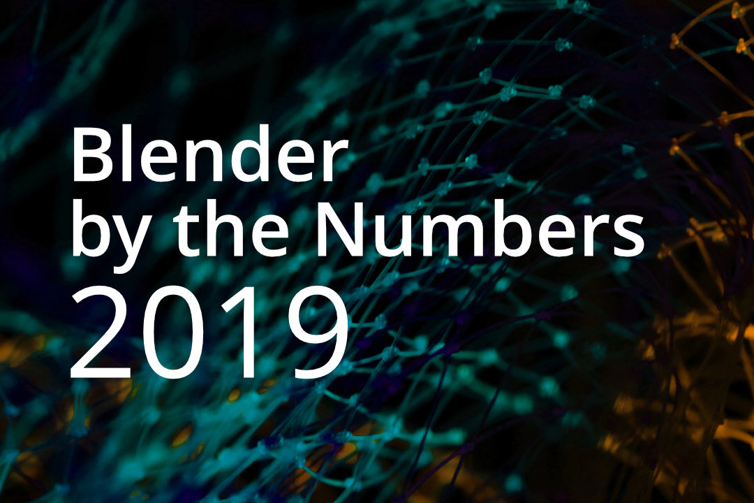 Blender by the Numbers 2019