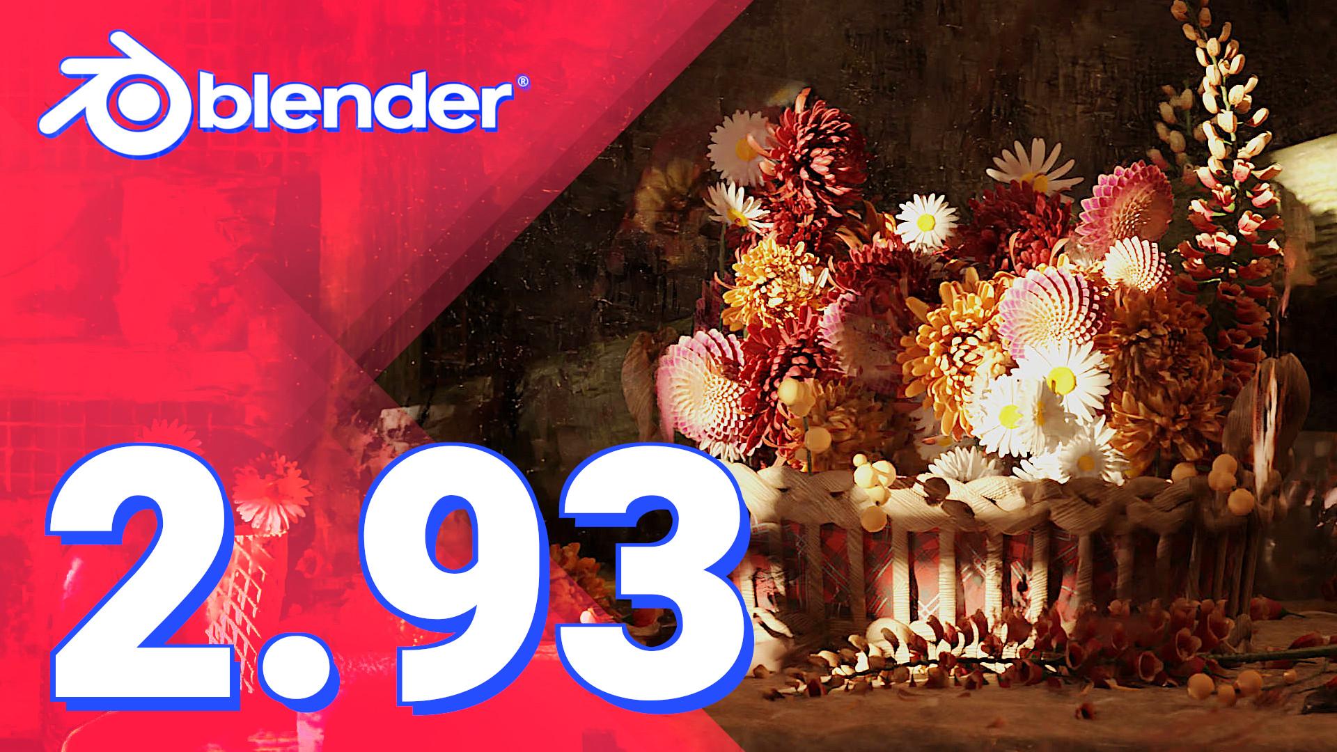 Blender 2.93 LTS